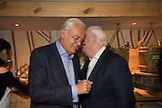 MARTYN LEWIS; MIKE DICKSON, Launch of The Happy Kitchen: Good Mood Food, by Rachel Kelly and Alice Mackintosh. Squirrel, South Kensington. London. 31 January 2017