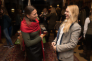 JEMIMA HINDLE; BOBBY FISHER, Tatler and Dubarry host an evening with Clare Balding, Dubarry of Ireland, 34 Duke of York's Sq. London. 13 October 2016.