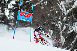Franziska Gritsch (AUT) during the Ladies' Giant Slalom at 57th Golden Fox event at Audi FIS Ski World Cup 2020/21, on January 16, 2021 in Podkoren, Kranjska Gora, Slovenia. Photo by Vid Ponikvar
