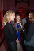 LISA HILTON; KATE WILLIAMS, Leonie Frieda book party  for ' The Deadly Sisterhood.' The Orangery, Kensington Palace. London. 20 November 2012.