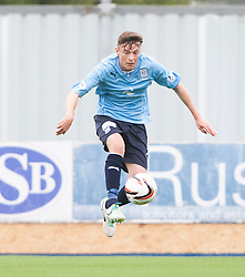 Dundee's Nicolas Riley.<br /> Falkirk 3 v 1 Dundee, 21/9/2013.<br /> ©Michael Schofield.