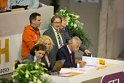 Steven Clarke (GBR), Frank Kemperman<br /> Reem Acra FEI World Cup ™ Dressage Final 2012<br /> 'S Hertogenbosch 2012<br /> © Dirk Caremans