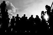 Belo Horizonte_MG,  08 de novembro de 2009...Projeto / A Massa...Torcedores atleticanos em jogo valido pela 34a rodada do Campeonato Brasileiro de 2009...Atletico-MG 1 x 3 Flamengo..Foto: NIDIN SANCHES / NITRO