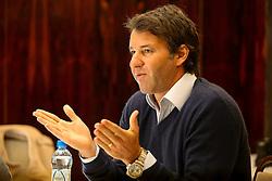 O Presidente do Grupo RBS, Eduardo Sirotsky Melzer durante encontro do Clube de Opinião. FOTO: Marcos Nagelstein/ Agência Preview