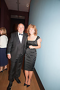 MARK WEISS; DEBRA WEISS, Mark Weiss dinner, Nationaal Portrait Gallery. London. 15 October 2012.