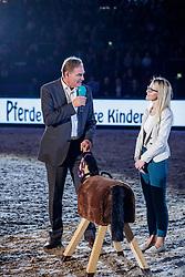 JUNG Burkhard (OB Leipzig)<br /> Leipzig - Partner Pferd 2020<br /> Initiative Pferde für unsere Kinder<br /> Longines FEI Jumping World Cup™ presented by Sparkasse<br /> Sparkassen Cup - Großer Preis von Leipzig FEI Jumping World Cup™ Wertungsprüfung <br /> Springprüfung mit Stechen, international<br /> Höhe: 1.55 m<br /> 19. Januar 2020<br /> © www.sportfotos-lafrentz.de/Stefan Lafrentz