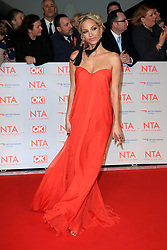 at the National Television Awards at the 02 Arena in London, UK. 24 Jan 2018 Pictured: Sarah Harding. Photo credit: MEGA TheMegaAgency.com +1 888 505 6342