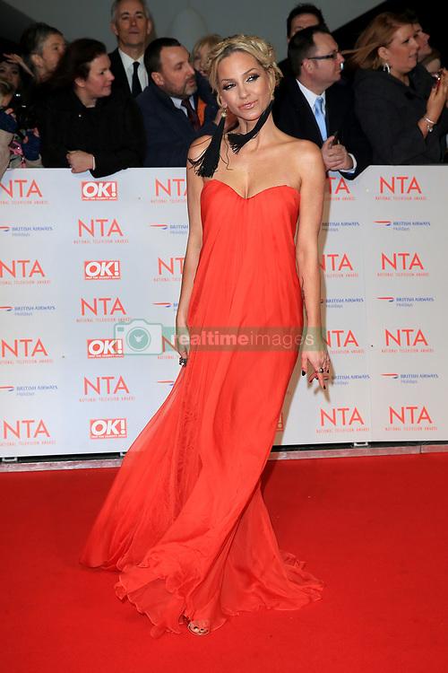 at the National Television Awards at the 02 Arena in London, UK. 24 Jan 2018 Pictured: Sarah Harding. Photo credit: MEGA TheMegaAgency.com +1 888 505 6342