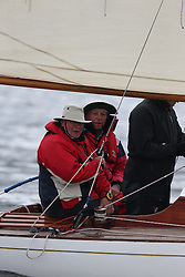The Clyde Cruising Club's Scottish Series held on Loch Fyne by Tarbert. <br /> Day 3 racing initially postponed awaiting  a light southerly.<br /> <br /> 2143C, Mignon,  B Fisher,/B Dunning, CCC, Fife Day Boat 1898