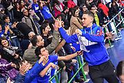 Scott Bamforth<br /> Banco di Sardegna Dinamo Sassari - Grissin Bon Reggio Emilia<br /> Legabasket Serie A LBA PosteMobile 2018/2019<br /> Sassari, 20/01/2019<br /> Foto L.Canu / Ciamillo-Castoria
