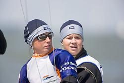 08_00929 © Sander van der Borch. Medemblik - The Netherlands,  May 21th 2008 . First day of the Delta Lloyd Regatta 2008.