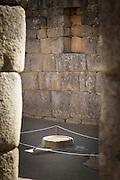 Water Mirror (Espejos de Aqua). Use for observing the sky at Machu Picchu, Machu Picchu, Cusco Region, Urubamba Province, Machupicchu District in Peru, South America