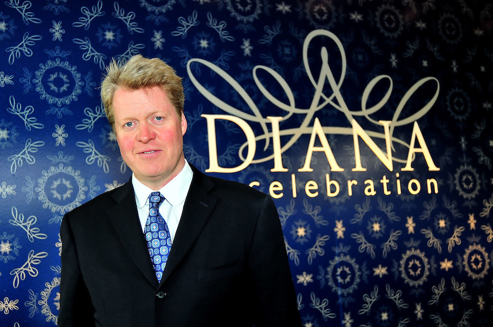 """PHILADELPHIA - OCTOBER 01:  Charles Spencer, Princess Diana's brother, attends a reception to celebrate """"Diana: A Celebration"""" exhibit at the National Constitution Center on October 1, 2009 in Philadelphia, Pennsylvania.  (Photo by Lisa Lake/Getty Images)"""