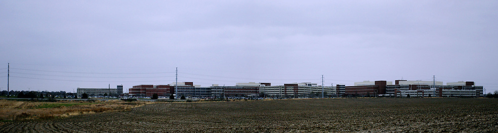 November 2008:  State Farm Insurances Corporate South campus.  This is a panoramic representation created using several images and is considered a photo illustration.