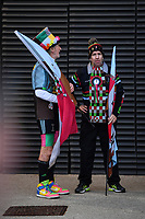 Rugby Union - 2018 / 2019 Gallagher Premiership - Harlequins vs. Wasps<br /> <br /> Harlequins flag bearers, at Twickenham.<br /> <br /> COLORSPORT/ASHLEY WESTERN