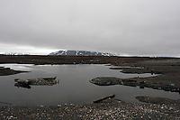 Landscape at Svalbard