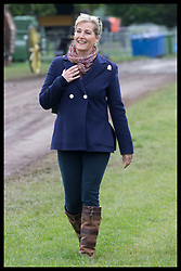 May 9, 2019 - Windsor, United Kingdom - Image licensed to i-Images Picture Agency. 09/05/2019. Windsor , United Kingdom. The Countess of Wessex  on the second day of Royal Windsor Horse Show, United Kingdom. (Credit Image: © Stephen Lock/i-Images via ZUMA Press)