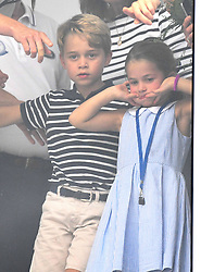 Princess Charlotte at The King's Cup Regatta, Cowes, Isle of Wight. Photo credit should read: Doug Peters/EMPICS