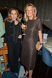 Left to right, JEANNE GELDOF and PRINCESS CHANTAL OF HANOVER at a dinner to celebrate the start of The Season held at Rivea, Bulgari Hotel, 171 Kightsbridge, London on 18th May 2016.