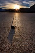 Racetrack Playa at Death Valley National Park California
