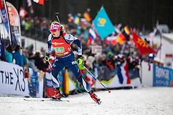 Anna Frolina (KOR) during the Mixed Relay 2x 6 km / 2x 7,5 km at day 3 of IBU Biathlon World Cup 2019/20 Pokljuka, on January 23, 2020 in Rudno polje, Pokljuka, Pokljuka, Slovenia. Photo by Peter Podobnik / Sportida