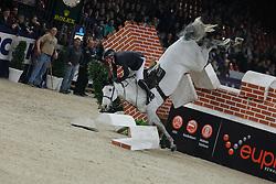 Williams Guy (GBR) - Richie Rich<br /> Puissance - Jumping Mechelen 2010<br /> © Dirk Caremans