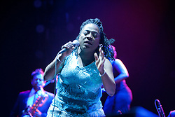 Sharon Jones and The Dap Kings perform at The Bill Graham Civic Auditorium - 12/02/11