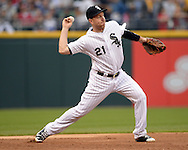 CHICAGO - JUNE 09:  Todd Frazier #21 of the Chicago White Sox fields against the Washington Nationals on June 09, 2016 at U.S. Cellular Field in Chicago, Illinois.  The White Sox defeated the Nationals 3-1 .  (Photo by Ron Vesely)    Subject:  Todd Frazier