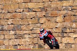 September 21, 2018 - Alcaniz, Teruel, Spain - Jorge Lorenzo (99) of Spain and Ducati Team during free practice for the Gran Premio Movistar de Aragon of world championship of MotoGP at Motorland Aragon Circuit on September 21, 2018 in Alcaniz, Spain. (Credit Image: © Jose Breton/NurPhoto/ZUMA Press)