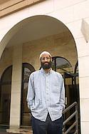 Falls Church, VA     Imom Anwar Al-Awlaki of the Dar Al-Hijrah Mosque. on September 21, 2001  Photo by Dennis Brack