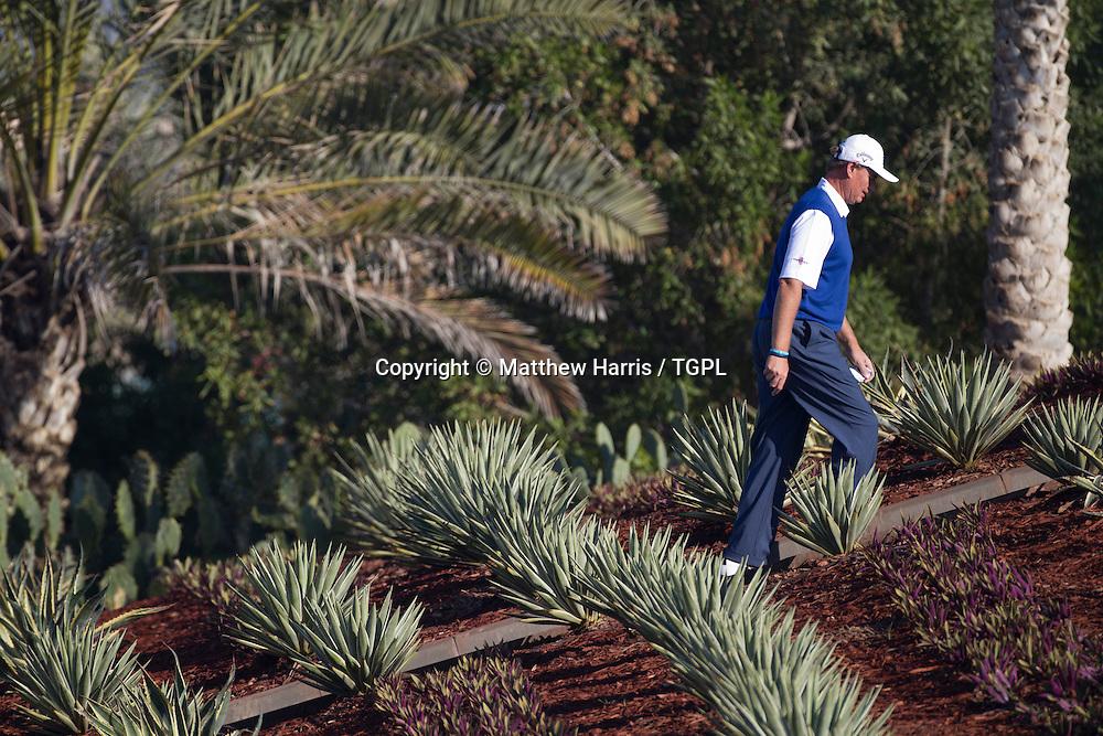 Ernie ELS (RSA) during  round,Abu Dhabi HSBC Championship 2013,Abu Dhabi Golf Club,Abu Dhabi,20th January 2013.