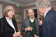 ANTONY D'OFFAY, Dinner to celebrate the opening of Pace London at  members club 6 Burlington Gdns. The dinner followed the Private View of the exhibition Rothko/Sugimoto: Dark Paintings and Seascapes.