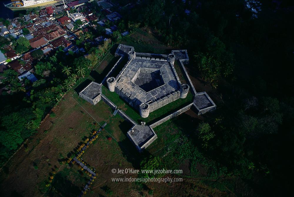 Fort Belgica, Banda Neira, Maluku, Indonesia.