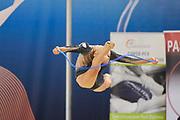 Federica Pettinelli from Armonia D'Abruzzo team during the Italian Rhythmic Gymnastics Championship in Padova, 25 November 2017.