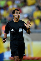 Fifa Brazil 2013 Confederation Cup / Semifinal Match /<br /> Brazil vs Uruguay 2-1  ( Mineirao Stadium - Belo Horizonte , Brazil )<br /> The Referee Enrique OSSES , during the match between Brazil and Uruguay