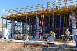 Boathouse at Canal Dock Phase II   State Project #92-570/92-674 Construction Progress Photo Documentation No. 05 on 17 November 2016. Image No. 32