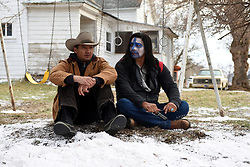 Jeremy Renner and Gil Birmingham star in WIND RIVER<br /> Fred Hayes/The Weinstein Company