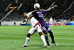 September 15, 2017 - Toulouse, France - Malcom (gir) vs Jacques Francois Moubandje  (Credit Image: © Panoramic via ZUMA Press)