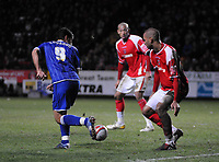 Photo: Tony Oudot/Sportsbeat Images.<br /> Charlton Athletic v Ipswich Town. Coca Cola Championship. 08/12/2007.<br /> Pablo Counago of Ipswich Town scores with a cheeky backheel