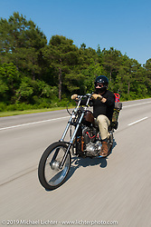 Ride from Camp Lejeune Marine base in NC to Suck, Bang, Blow in Murrells Inlet in SC on the way to the Smokeout 2015. USA. June 17, 2015.  Photography ©2015 Michael Lichter.