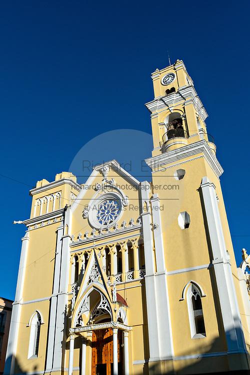 The Xalapa Cathedral on the Plaza Lerdo at the historic center of Xalapa, Veracruz, Mexico.