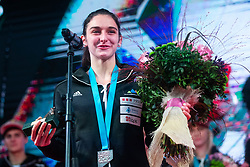 Mia Krampl during PZS reception for slovenian national climbing team after IFSC Climbing World Championships in Hachioji (JPN) 2019, on August 23, 2019 at Ministry of Education, Science and Sport, Ljubljana, Slovenia. Photo by Grega Valancic / Sportida