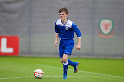 NEWPORT, WALES - Tuesday, May 27, 2014: South WPL Academy Boys' Jay Davies during the Welsh Football Trust Cymru Cup 2014 at Dragon Park. (Pic by David Rawcliffe/Propaganda)