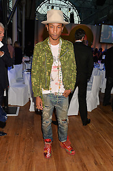 PHARRELL WILLIAMS at the GQ Men Of The Year 2014 Awards in association with Hugo Boss held at The Royal Opera House, London on 2nd September 2014.