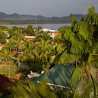 The sun rises over Puerto Viejo de Talamanca, Costa Rica, on April 2, 2009.  (Photo/Billy Byrne Drumm)