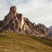 Passo di Giau in the morning