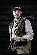 Sir Ian Botham at EJ Churchill Clay Shoot Wormsley Estate for in conjunction with The Botham Charity<br /> <br /> Photo Credit Ki Price/ Emulsion London