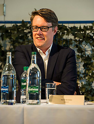 Pictured: Martyn McCluskey Labour.<br /> <br /> Political scientists from the Academy of Government at the University of Edinburgh discussed the factors that influenced voters, the direction of Scottish politics, and analysed changes since the 2015 general election. Among the speakers were Dr Jan Eichhorn (University of Edinburgh), Professors Ailsa Henderson and James Mitchell (University of Edinburgh), Professor Roger Scully (University of Cardiff) and Dr Heinz Branbdenburg (Strathclyde University). Politicians joined the group discussion chaired by Mandy Rhodes (Holyrood Editort) with Marco Biagi (SNP), Nules Briggs (Conservative), Gavin Corbett (Greens), Juliet Swann (Associate Consultant at McNeill and Stone) and Martyn McCluskey (Labour) <br /> <br /> Ger Harley   EEm 13 May April 2016