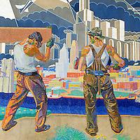 Union Terminal Murals in Cincinnati Ohio