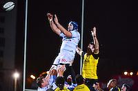 Francois VAN DER MERWE / Jason EATON  - 20.12.2014 - Racing Metro 92 / La Rochelle - 13eme journee de Top 14<br /> Photo : Dave Winter / Icon Sport